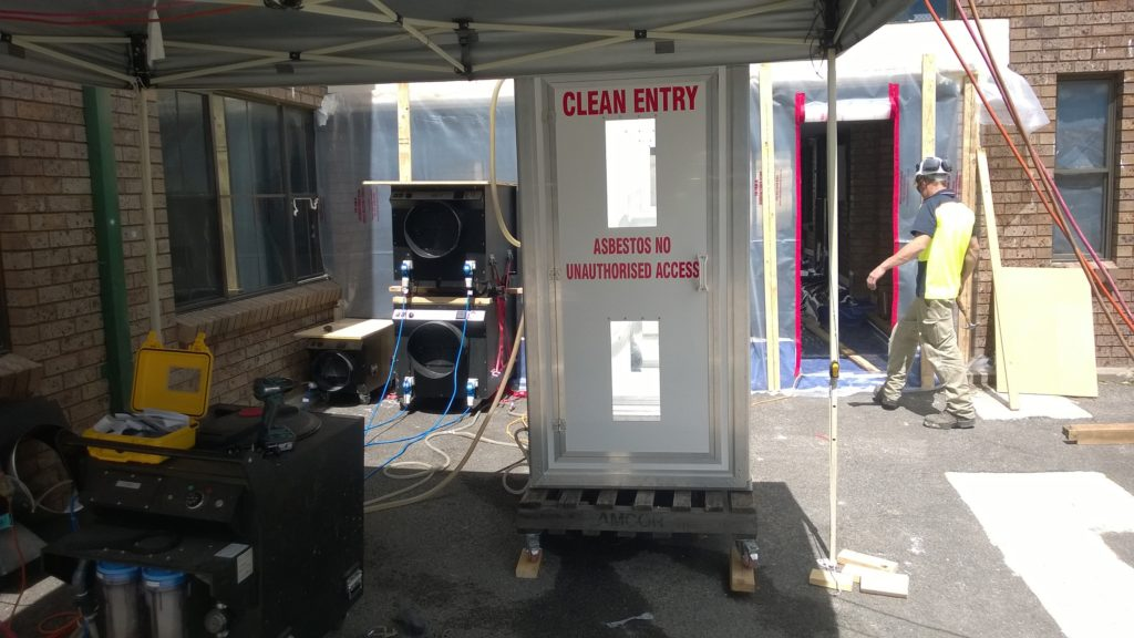 friable asbestos removal